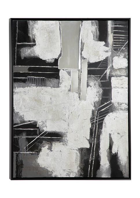 Monroe Lane 28.5 in x 38.5 in Gray,
