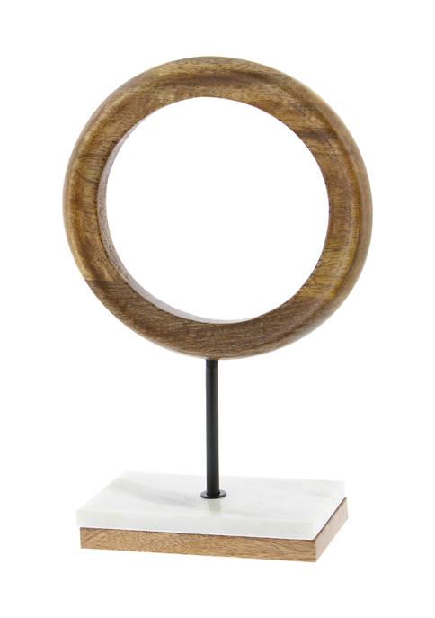 Monroe Lane Mango Wood Sculpture