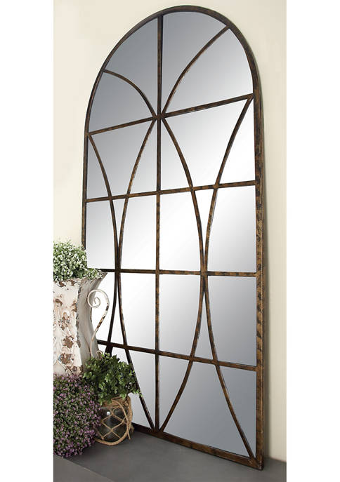 Elliptical Design Overlay Mirror