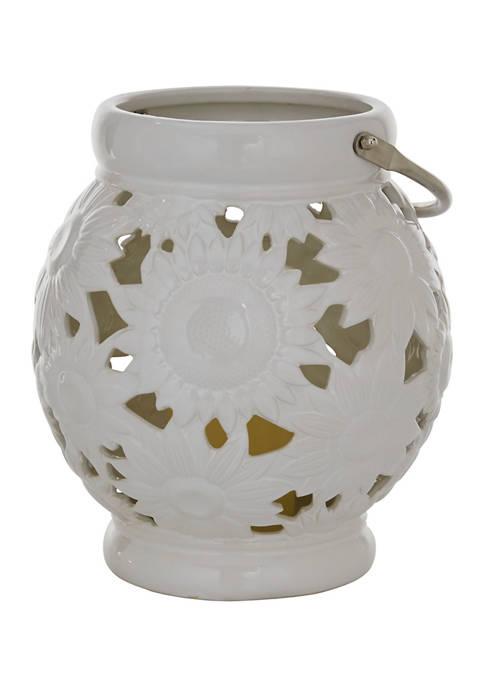 Monroe Lane Ceramic Contemporary Lantern
