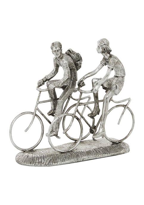 Monroe Lane Polystone Contemporary Bicycle Sculpture