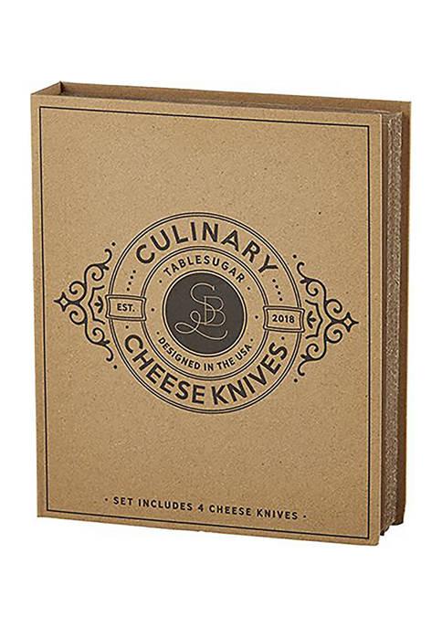 Santa Barbara Design Studio Book Cheese Knives