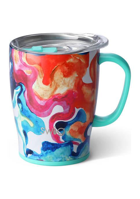 18 ounce Mug- Color Swirl