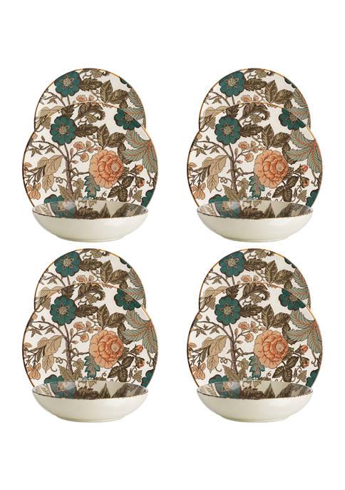 goodness & grace Amadora Garden Floral 12-Piece Dinnerware