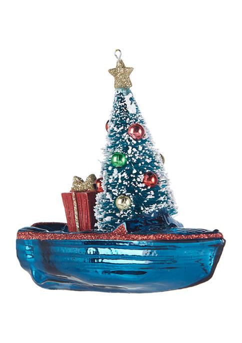RAZ Imports Inc. Boat Ornament