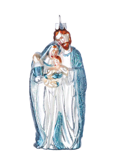 RAZ Imports Inc. Holy Family Glass Ornament