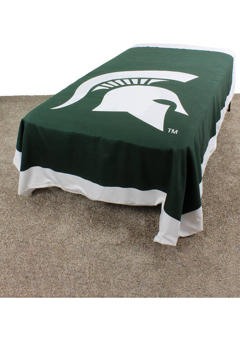 NCAA Michigan State Spartans Duvet Cover