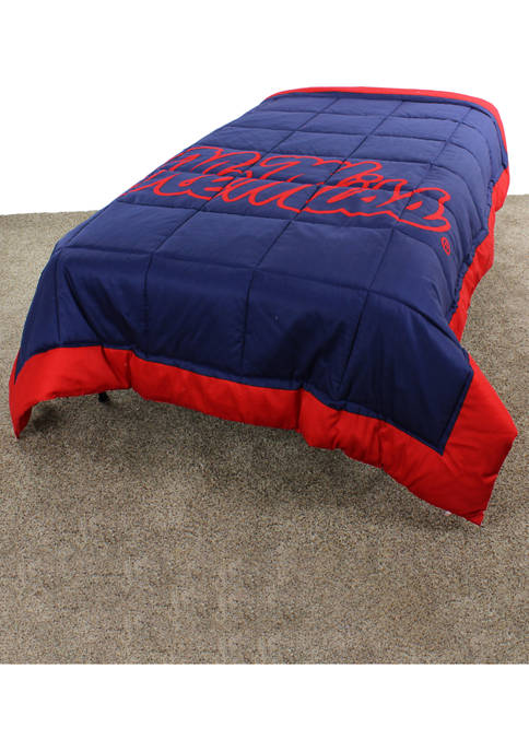 College Covers NCAA Ole Miss Rebels Light Comforter