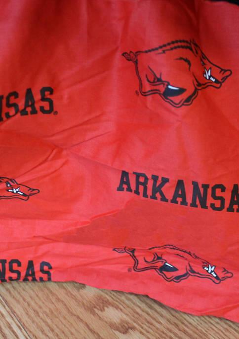 College Covers NCAA Arkansas Razorbacks Printed Dust Ruffle