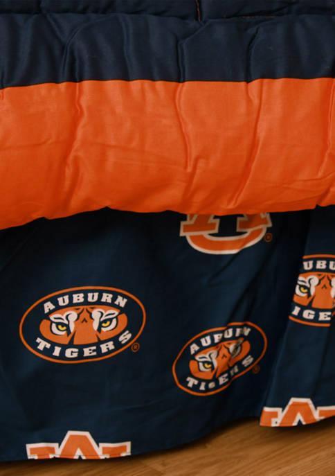 College Covers NCAA Auburn Tigers Printed Dust Ruffle