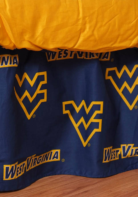 College Covers NCAA West Virginia Mountaineers Printed Dust