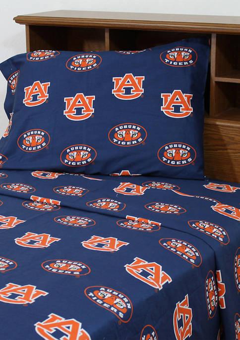 College Covers NCAA Auburn Tigers Sheet Set