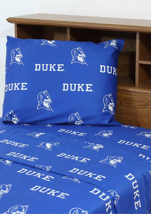 College Covers NCAA Duke Blue Devils Sheet Set