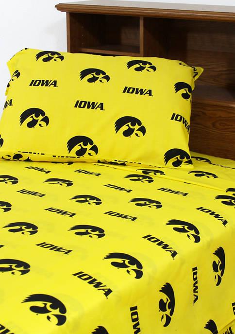 College Covers NCAA Iowa Hawkeyes Sheet Set