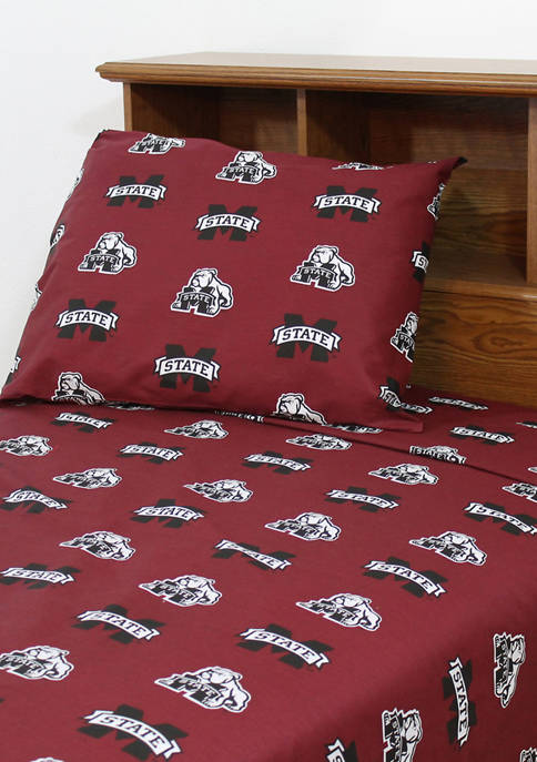 College Covers NCAA Mississippi State Bulldogs Sheet Set