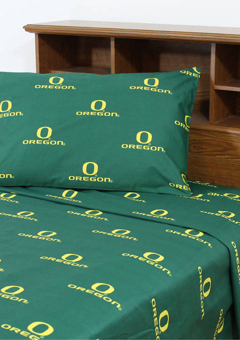 College Covers NCAA Oregon Ducks Sheet Set