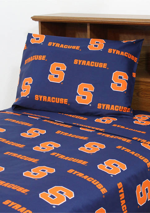 College Covers NCAA Syracuse Orange Sheet Set