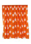 NCAA Clemson Tigers Printed Curtain Panels
