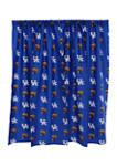 NCAA Kentucky Wildcats Printed Curtain Panels