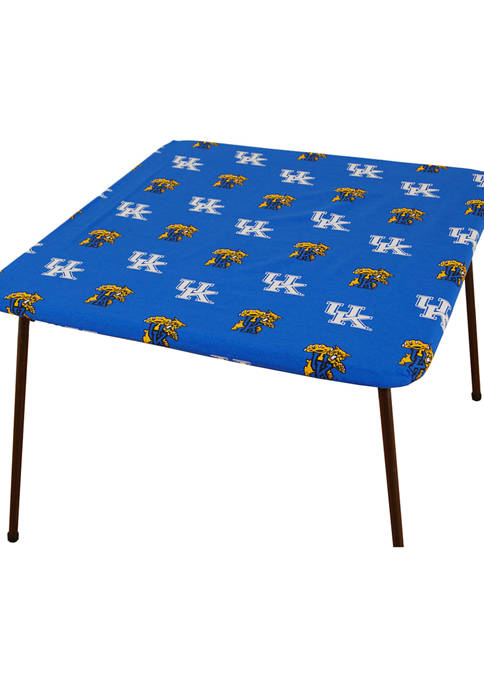 NCAA Kentucky Wildcats Tailgate Fitted Tablecloth