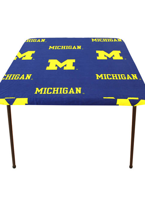 NCAA Michigan Wolverines Tailgate Fitted Tablecloth