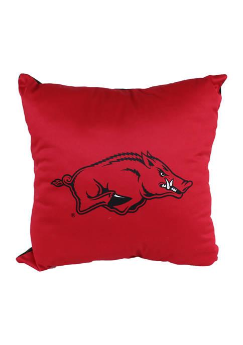 College Covers NCAA Arkansas Razorbacks Decorative Pillow