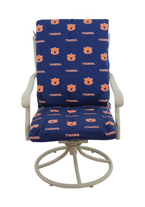 NCAA Auburn Tigers 2 Piece Chair Cushion
