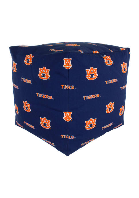 NCAA Auburn Tigers Cubed Bean Bag Pouf