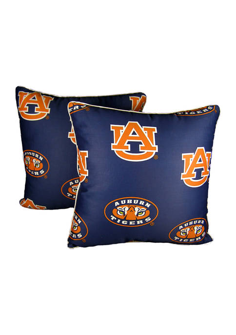 College Covers NCAA Auburn Tigers Decorative Pillow