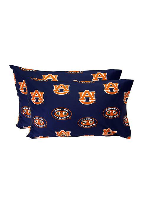 College Covers NCAA Auburn Tigers King Pillowcase