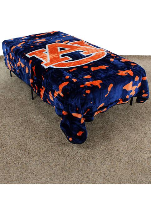 College Covers NCAA Auburn Tigers Huge Raschel Throw