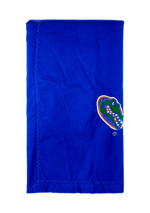 NCAA Florida Gators 28 in x 28 in Silky and Super Soft Plush Baby Blanket