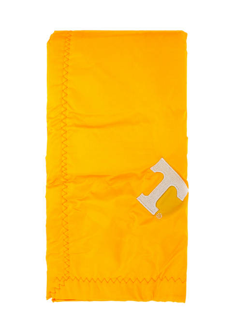 NCAA Tennessee Volunteers 28 in x 28 in Silky and Super Soft Plush Baby Blanket