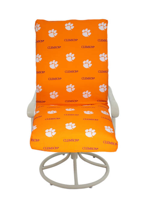 NCAA Clemson Tigers 2 Piece Chair Cushion