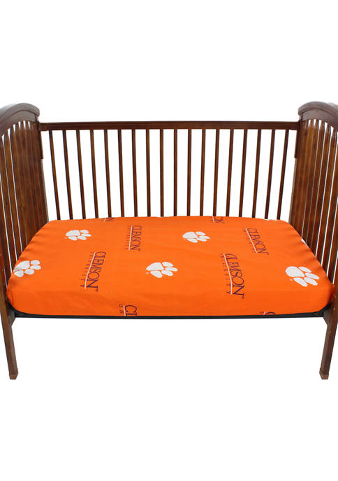 College Covers NCAA Clemson Tigers Baby Crib Fitted