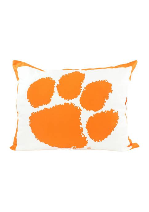 NCAA Clemson Tigers Fully Stuffed Big Logo Pillow