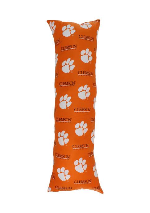 NCAA Clemson Tigers Printed Body Pillow