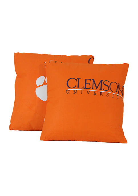 College Covers NCAA Clemson Tigers Decorative Pillow