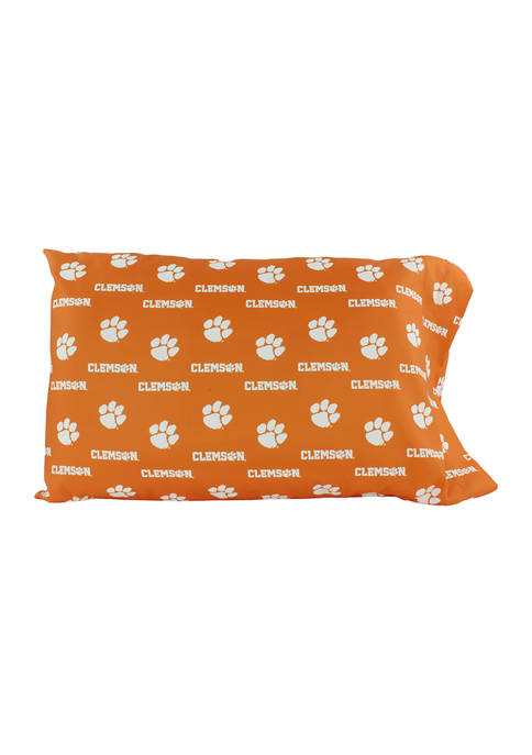 College Covers NCAA Clemson Tigers King Pillowcase