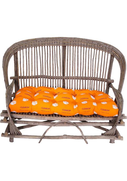 NCAA Clemson Tigers Settee Cushion