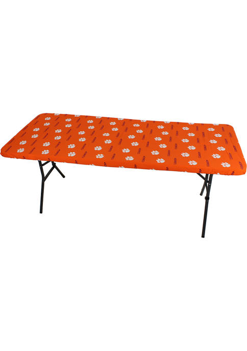 NCAA Clemson Tigers Tailgate Fitted Tablecloth