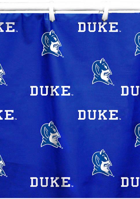 College Covers NCAA Duke Blue Devils Printed Shower