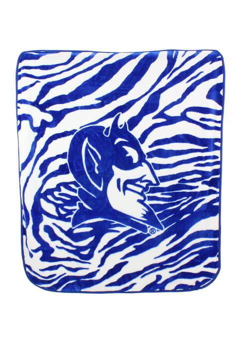 College Covers NCAA Duke Blue Devils Soft Raschel