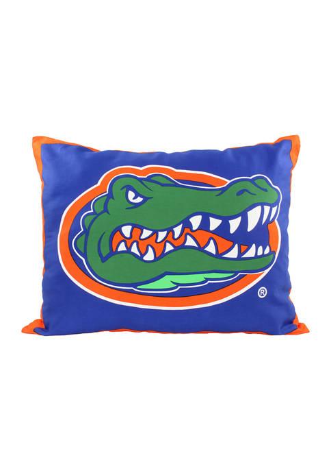 NCAA Florida Gators Fully Stuffed Big Logo Pillow