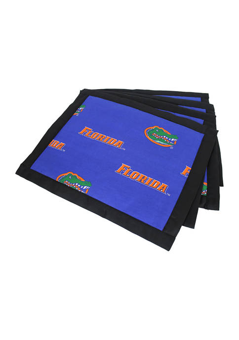 NCAA Florida Gators Set of 4 Placemats