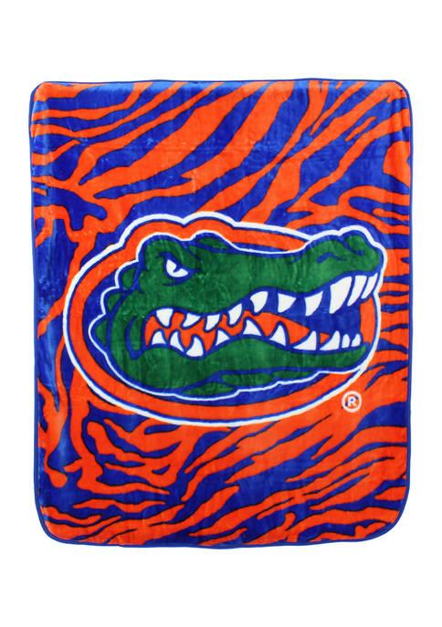 College Covers NCAA Florida Gators Soft Raschel Throw
