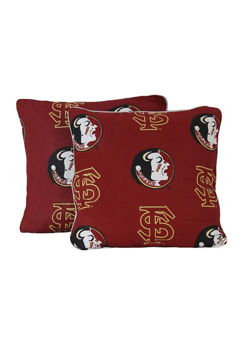 College Covers NCAA Florida State Seminoles Decorative Pillow