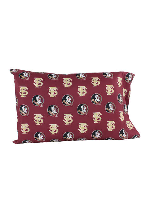 College Covers NCAA Florida State Seminoles King Pillowcase