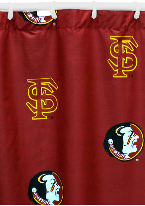 College Covers NCAA Florida State Seminoles Printed Shower