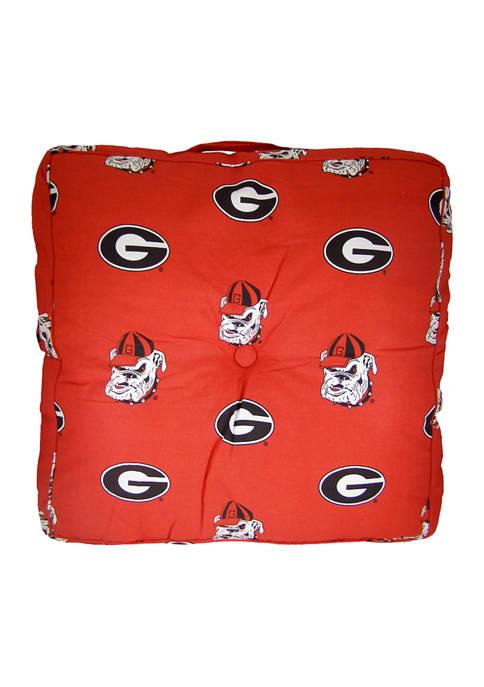 College Covers NCAA Georgia Bulldogs Floor Pillow